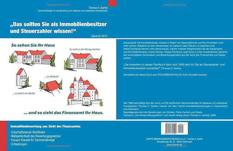 Immobilienbewertung aus Sicht des Finanzamtes - Buchcover
